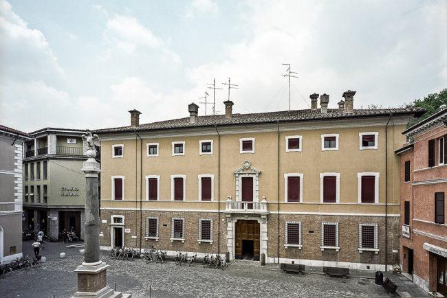 Facciata del Palazzo Pasolini Dall'Onda - @ Giampiero Corelli Fotoreporter