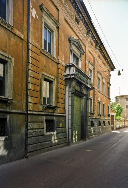 Facciata del palazzo - @ Giampiero Corelli Fotoreporter