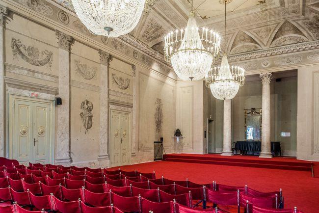 La Sala Corelli, il ridotto del teatro - © Giampiero Corelli Fotoreporter