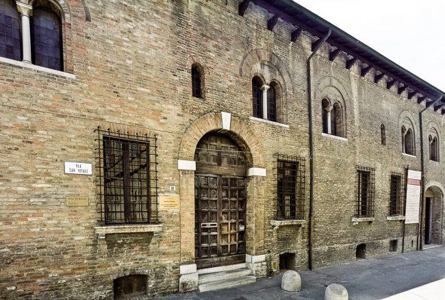 La facciata di Casa Traversari - © Giampiero Corelli Fotoreporter