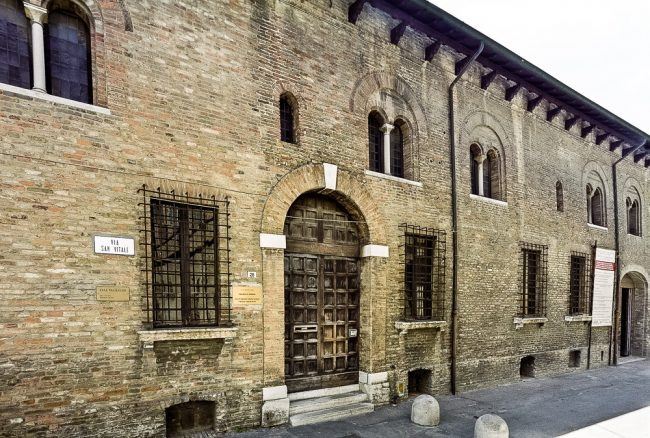 The facade of Casa Traversari - © Giampiero Corelli Fotoreporter
