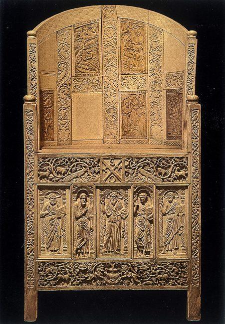 Cappella di S. Andrea – Il mosaico dell'abside