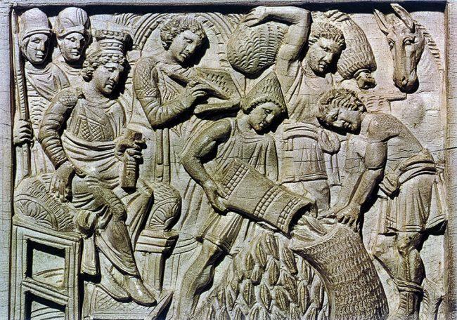 Museo Arcivescovile - Cattedra di Massimiano - Archivi fotografici Istituzione Biblioteca Classense, Ravenna