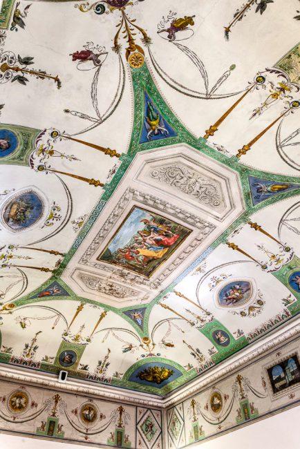 Salone affrescato - © Giampiero Corelli Fotoreporter