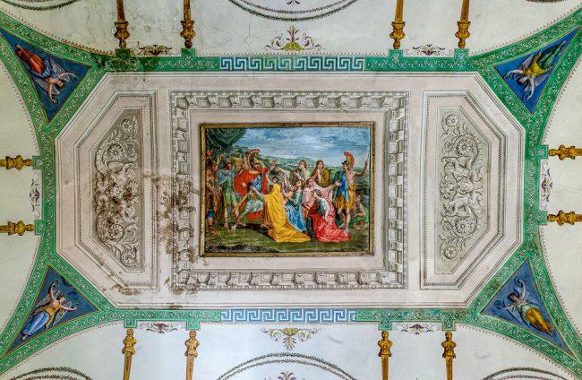 Frescoed room – The vault - © Giampiero Corelli Fotoreporter