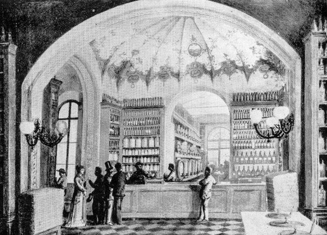 La Drogheria Bellenghi nel 1877