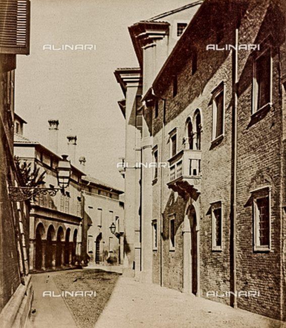 La Palazzina Diedo in una foto degli anni 1880-90 – Raccolte Museali Fratelli Alinari Firenze