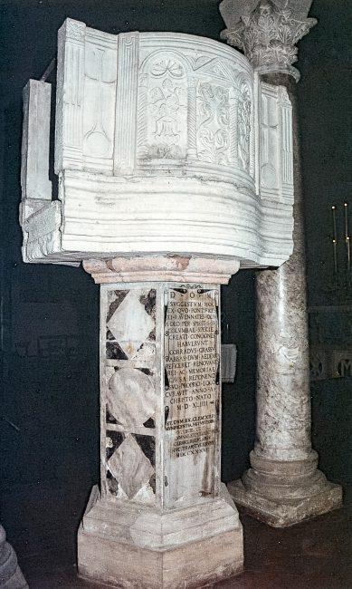 L'ambone - La Basilica dello Spirito Santo – Angelo Longo Editore