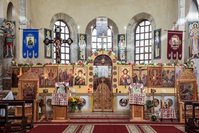 Interno attuale, gestito dalla comunità ortodossa rumena – particolare - © Giampiero Corelli Fotoreporter