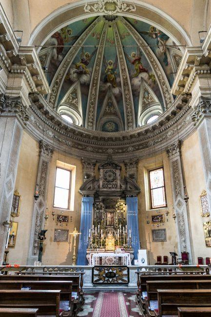 La cappella della Madonna Greca, nel transetto sinistro