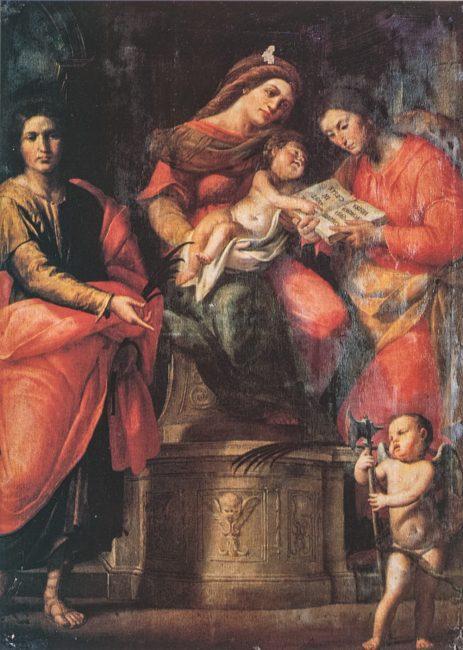 Cesare Pronti. La Madonna con il Bambino e i Santi Giovanni e Paolo -  Ravenna Segreta – Angelo Longo Editore