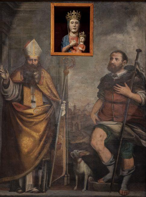 I Santi Martino di Tours e Rocco (1668, Gioacchino Muzzarelli e Pietro Ciomei) - © Giampiero Corelli Fotoreporter