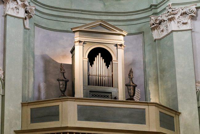 L' organo a mantice del '700