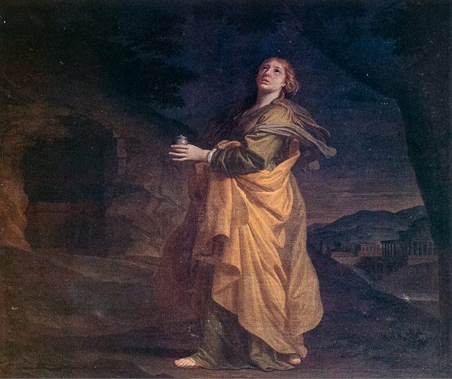 La Maddalena al sepolcro (Domenico Corvi, 1721-1803) - Ravenna Segreta– Angelo Longo Editore