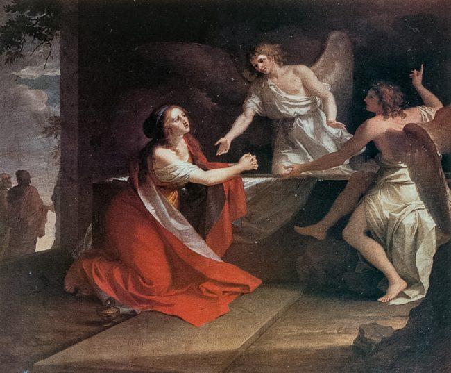 La Maddalena confortata dagli angeli (Marcello Leopardi, ca. 1750-95) - Ravenna Segreta – Angelo Longo Editore (parete destra)