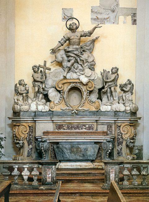 L'Altare con la Gloria di San Vitale, di Giovanni Toschini (Ravenna Segreta – Angelo Longo Editore)