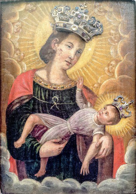 L'immagine della Madonna del Sudore
