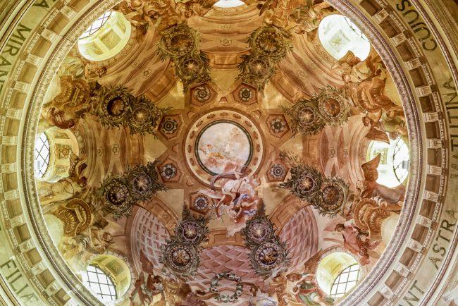 La cupola: particolare