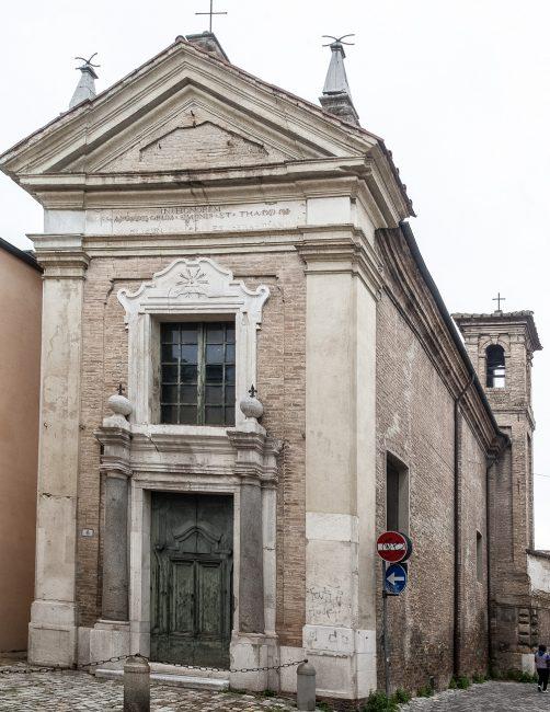 Facciata attuale della chiesa di San Carlino – © Giampiero Corelli Fotoreporter