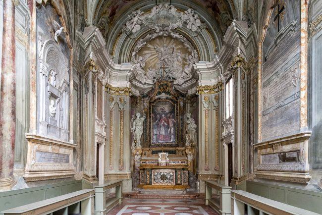 Interno della chiesa di San Carlino – © Giampiero Corelli Fotoreporter