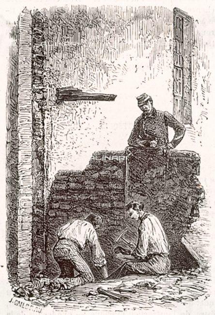 Rinvenimento dei resti di Dante Alighieri: © Mary Evans - Archivi Alinari Firenze