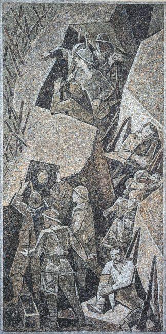 Mosaico sulla 1° Guerra Mondiale - La nuova Casa del Mutilato - Edizioni del Girasole