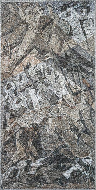 Mosaico sulla Guerra d'Africa - La nuova Casa del Mutilato - Edizioni del Girasole