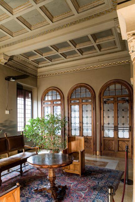 Vestibolo d'attesa al secondo piano - Per gentile concessione del Servizio Pubbliche relazioni della Provincia di Ravenna