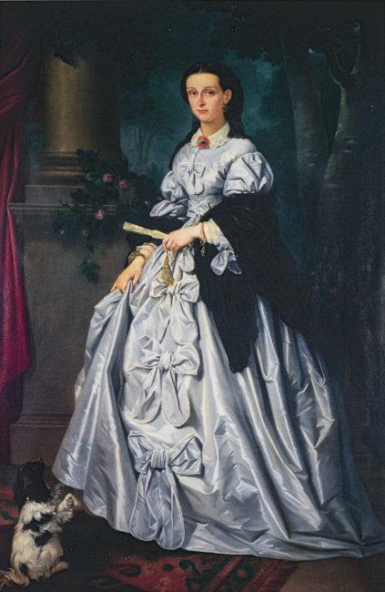 Portrait of Gertrude Rasponi – Ravenna la città dei Rasponi – Angelo Longo Editore – Public Relations Service of the Province of Ravenna