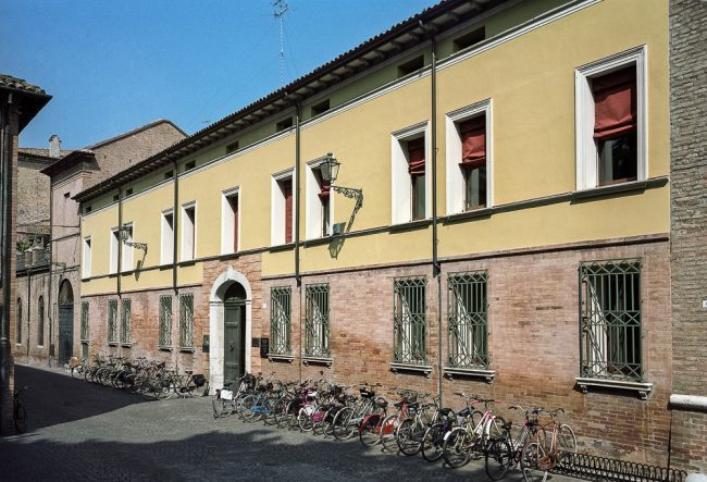 Current facade of the building – © Giampiero Corelli Fotoreporter