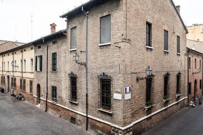 Current facade of the building – © Giampiero Corelli Fotoreporter
